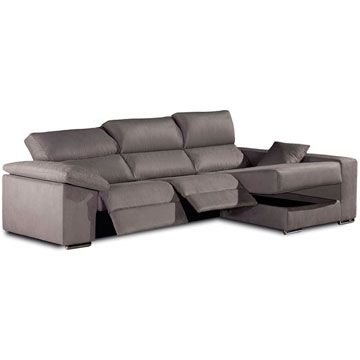 Sof relax chaise longue gamamobel mir sofassinfin for Medidas sofa cheslong