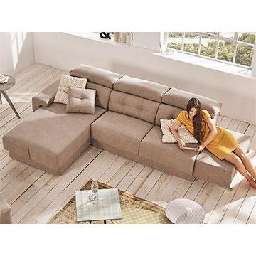 Cheslong Acomodel Habitat Sofa Con Chaise Longue