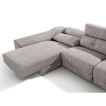 Sof chaise longue acomodel memory sofassinfin for Medidas sofa cheslong