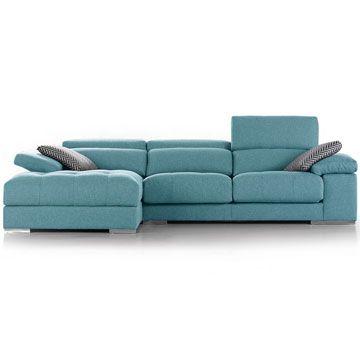 Sofá chaise-longue Divani Star Trento. Sofassinfin