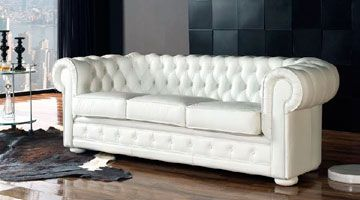 Sof s de dise o moderno en piel y tela sofassinfin for Sofas clasicos modernos