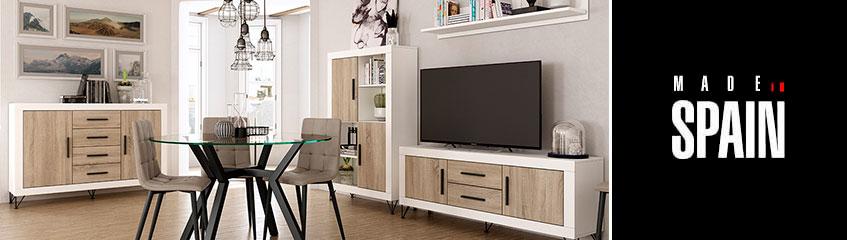 Muebles de sal n modernos y actuales sofassinfin for Muebles salon comedor actuales